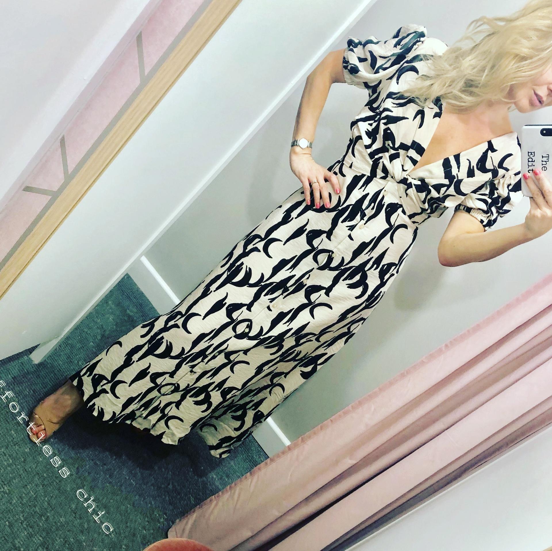 Stone Zebra Dress