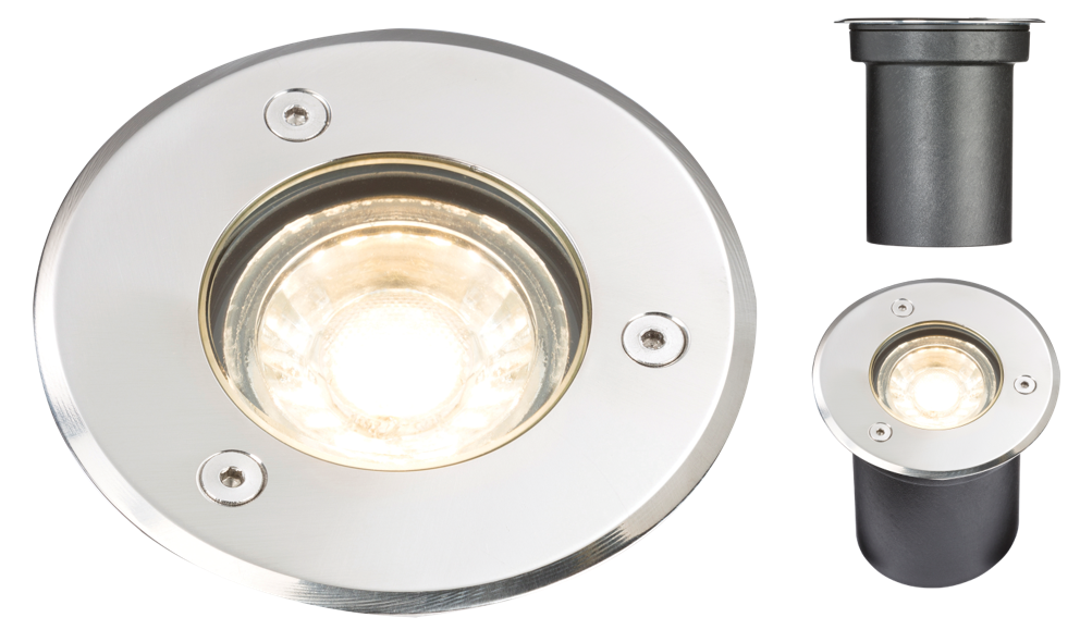 230V IP65 3W LED GROUND/DECK LIGHT- 3000K