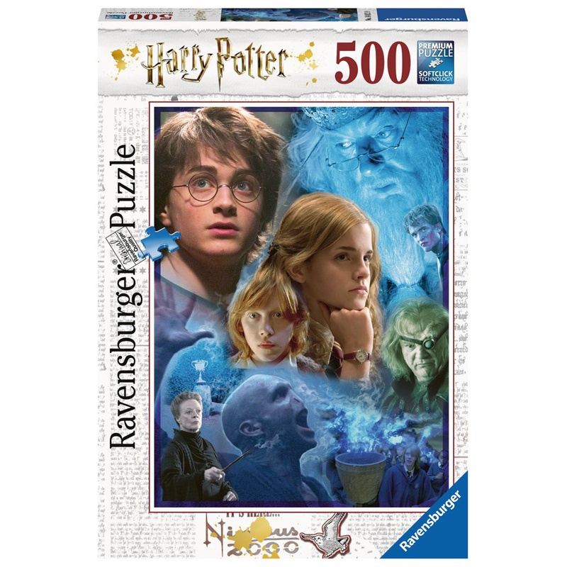 HARRY POTTER IN HOGWARTS 500 PCS