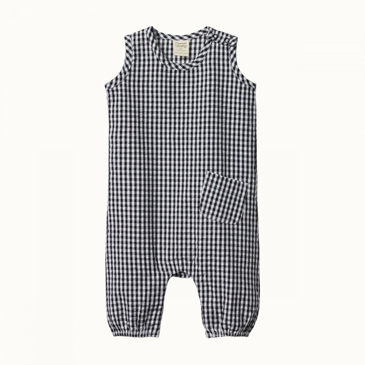 GINGHAM CEDAR SUIT - NAVY CHECK