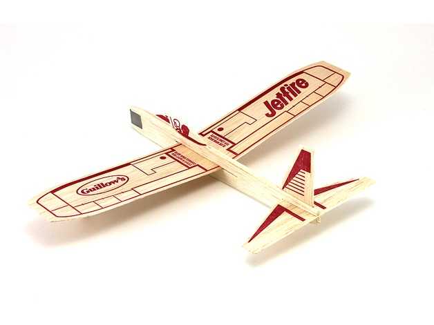 Guillows #0030 Balsa Jetfire Glider