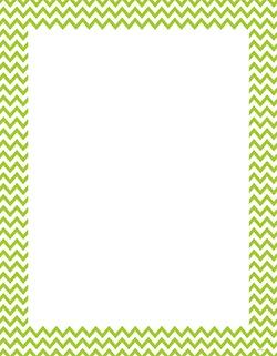 CTP 0968 LIME GREEN CHEVRON BLANK CHART