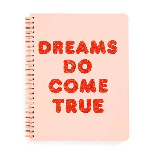 Rough Draft Mini Notebook | Dreams Do Come True