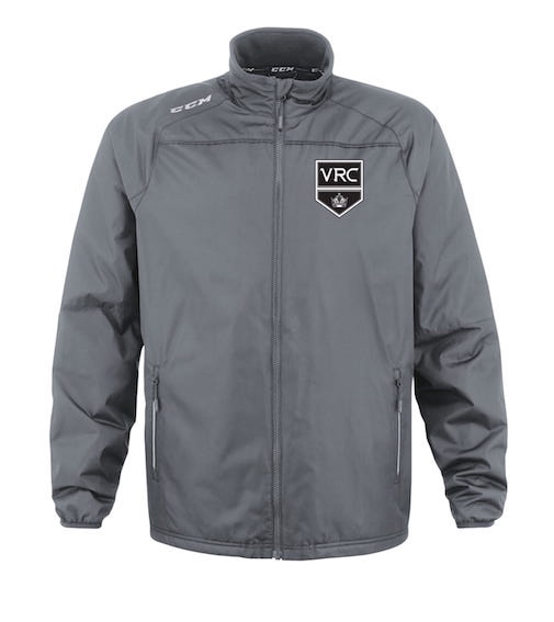CCM Premium Skate Suit Jacket-VRC Shield Grey-EMBROIDERED CREST