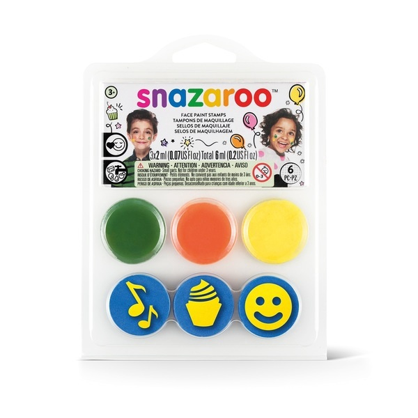 SNAZAROO FACE PAINT STAMPS