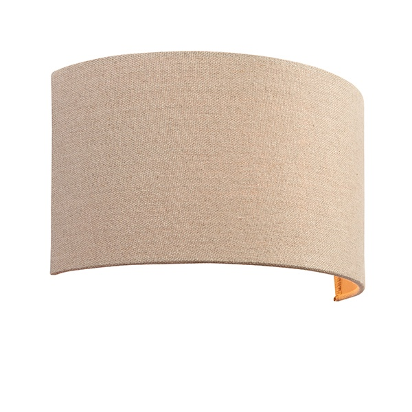 Obi 1lt wall 40W - natural linen natural polyester cotton