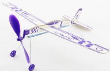 Jet Boy #XA06201 Balsa Glider Rubber Band Powered