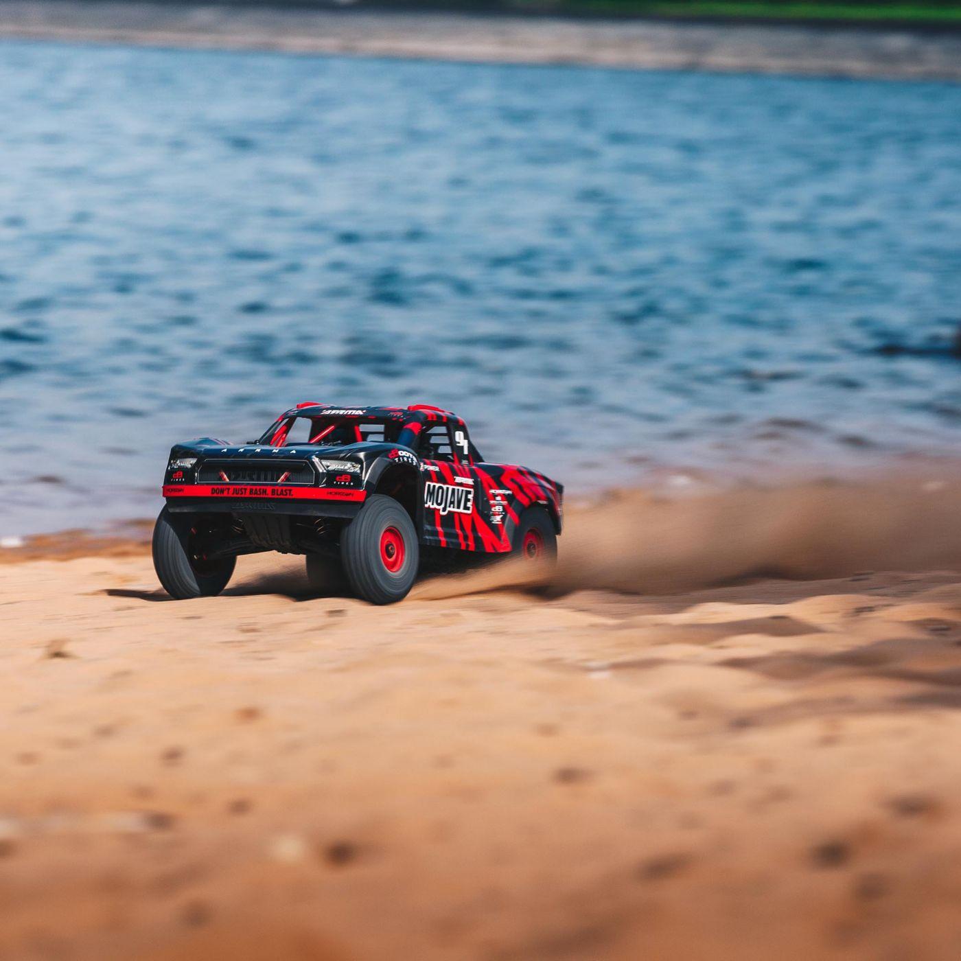 ARRMA #106058T2 1/7 Mojave 4WD Desert Racer (Red/Black)