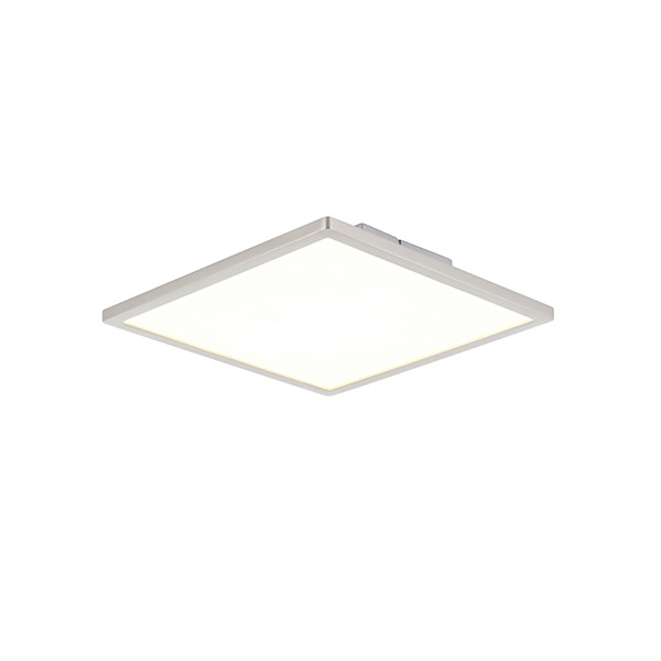 Ceres 250mm square flush 10W - satin nickel