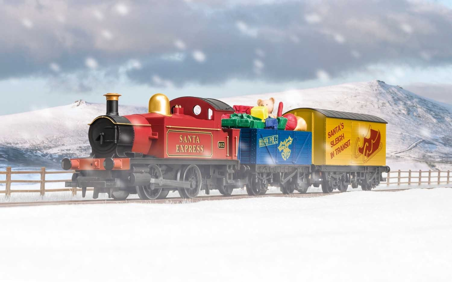 Hornby #R1210 Santa's Express Train Set