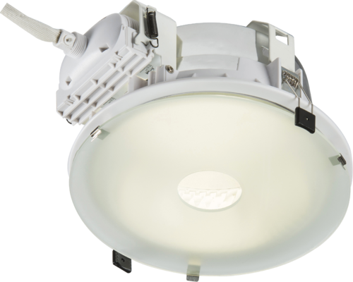 PLDL Frosted Drop Glass Accessory 230mm PL Downlight