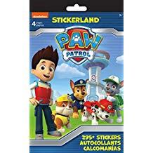 STICKERLAND ACTIVITY PAD PAW PATROL