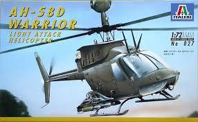 Italeri #027 1/72 AH-58D Warrior