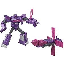 TRANSFORMERS CYBERVERSE SPARK ARMOR SHOCKWAVE