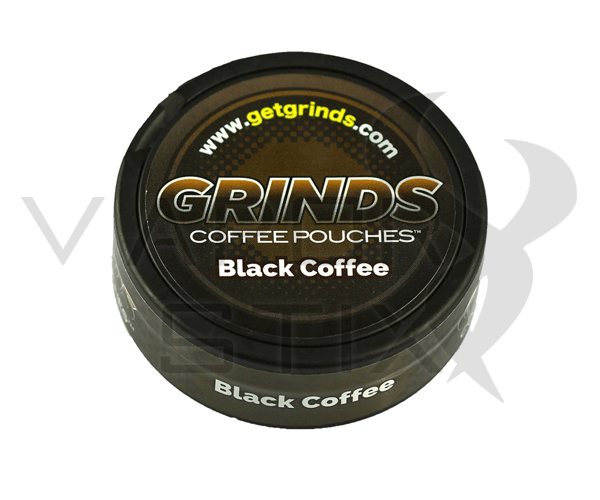 Grinds Coffee Pouches Black Coffee