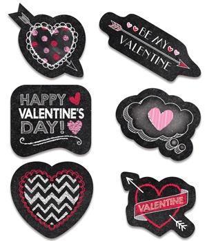 CTP 4049 CHALK IT UP VALENTINE'S DAY STICKERS