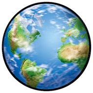 T 10047 PLANET EARTH CUTOUTS