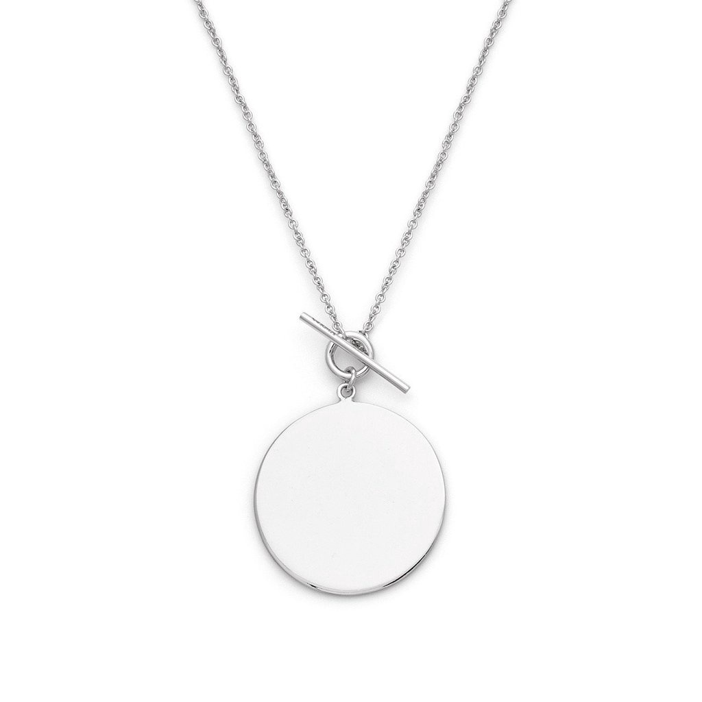 MELANIE AULD - TOGGLE PENDANT IN SILVER