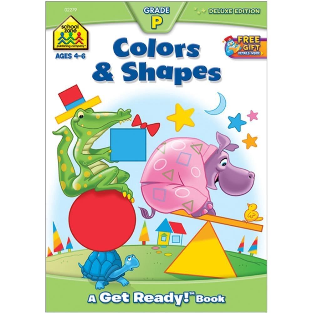 SHAPES & COLORS AGES 4