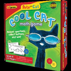 EP 63530 PETE THE CAT COOL CAT MATH GAME GRADE K