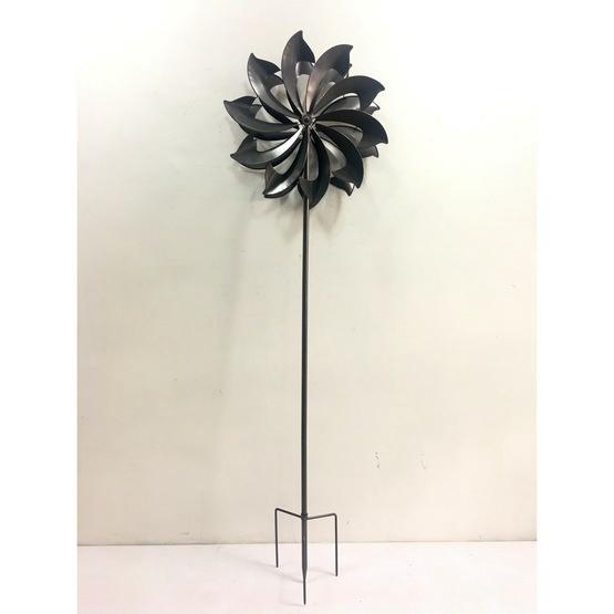 Silver Daisy Windsculpture