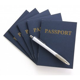 HYG 32610 BLANK PASSPORT BOOK EA.