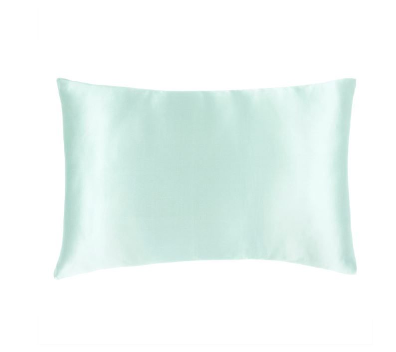 PURE SILK PILLOWCASE - ROBINS EGG