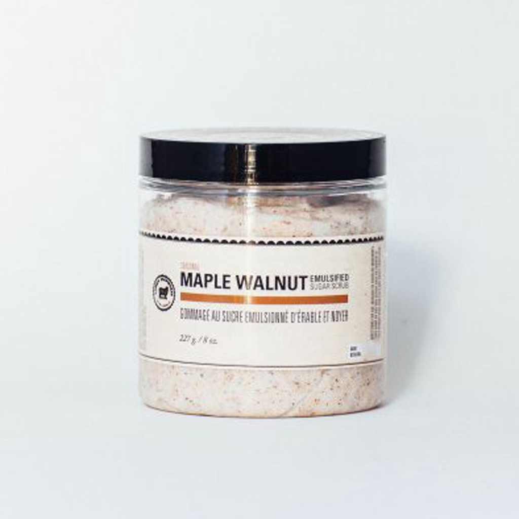 Maple Walnut Emulsified Sugar Scrub