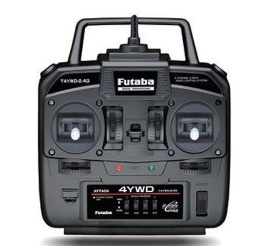 Futaba #4YWD Transmitter and Reciever 2.4GHZ