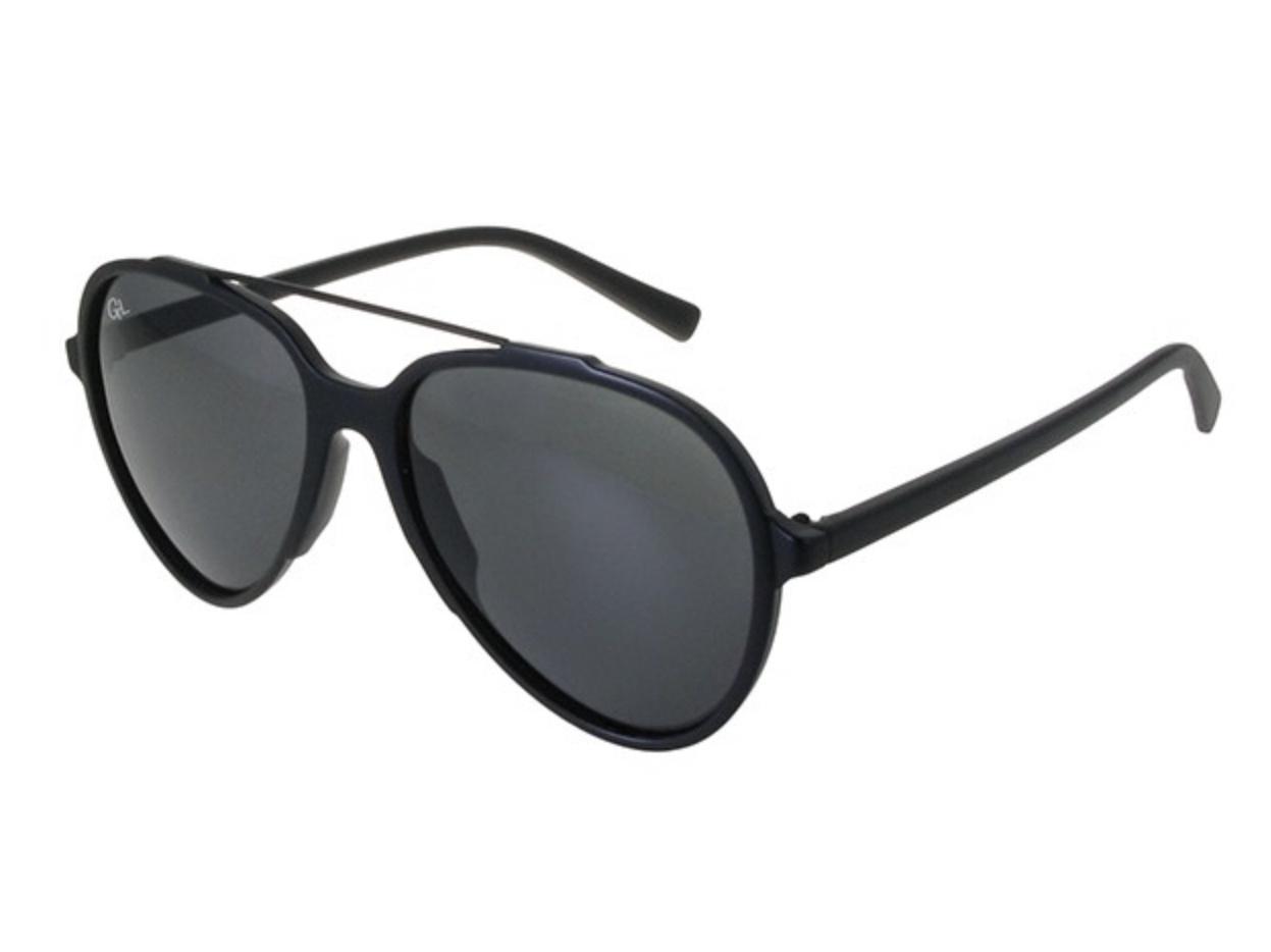 Classic aviator polarised sunglasses