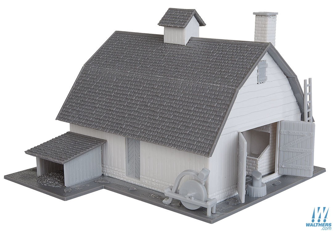 Walthers Mainline #931-902 Old Country Barn Kitset