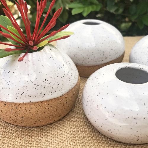 Little Round Bud Vase