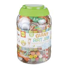 GIANT ART JAR - NATURE