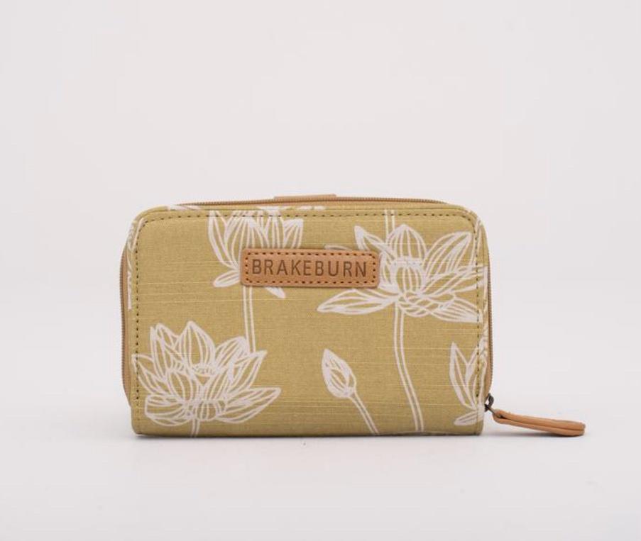 Lotus Print Wallet