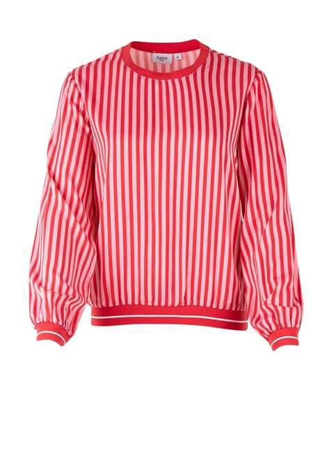 Striped Woven Top by saint Tropez