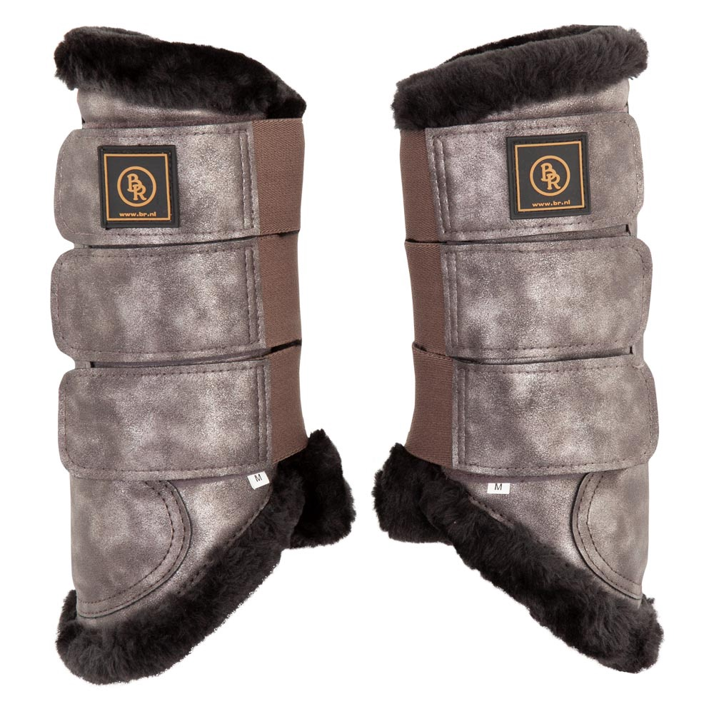 BR Majestic Dressage Boots with Fur