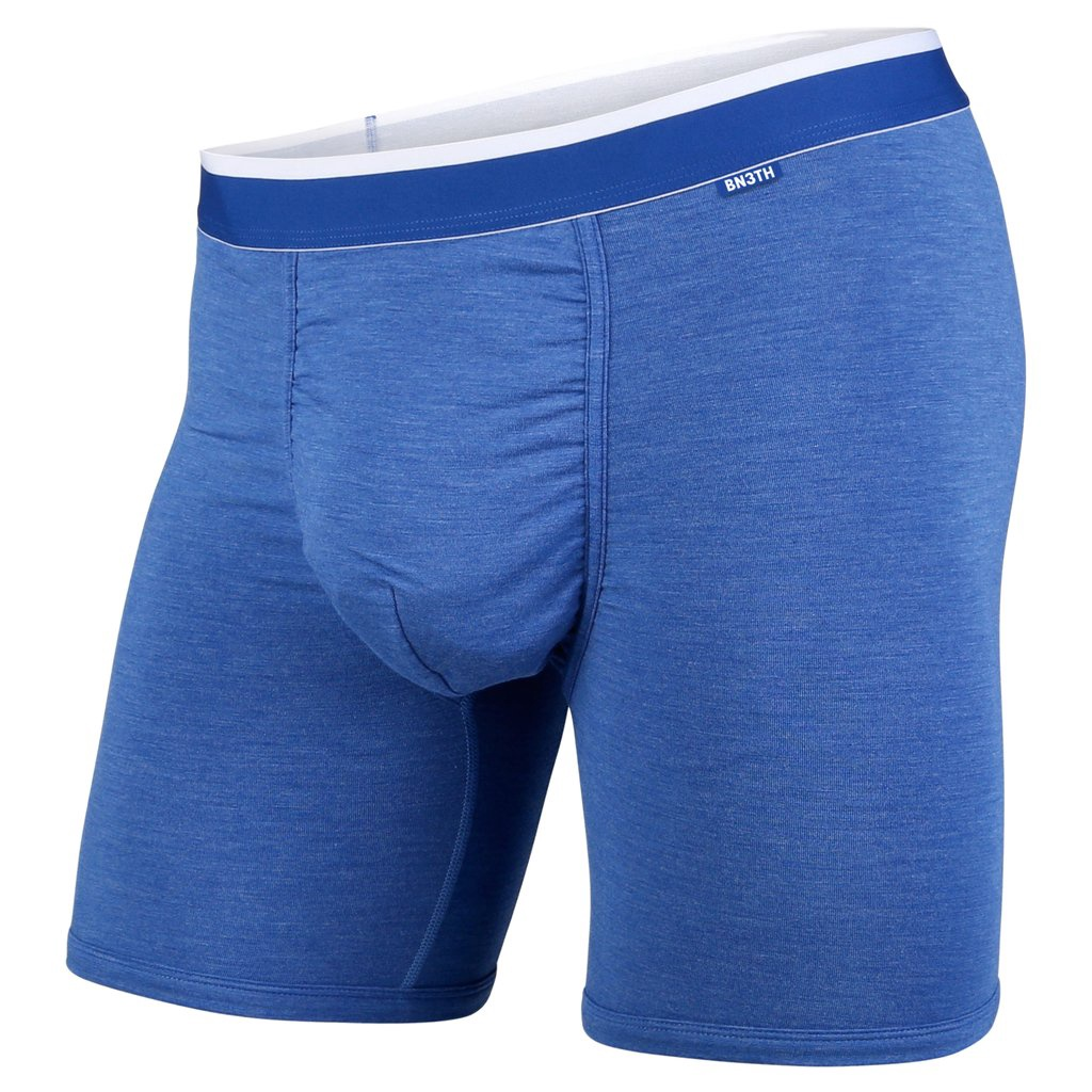 BN3TH - CLASSICS BOXER BRIEF IN BLUE HEATHER/WHITE