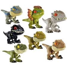 JURASSIC WORLD SNAP SQUAD COLLECTIBLES