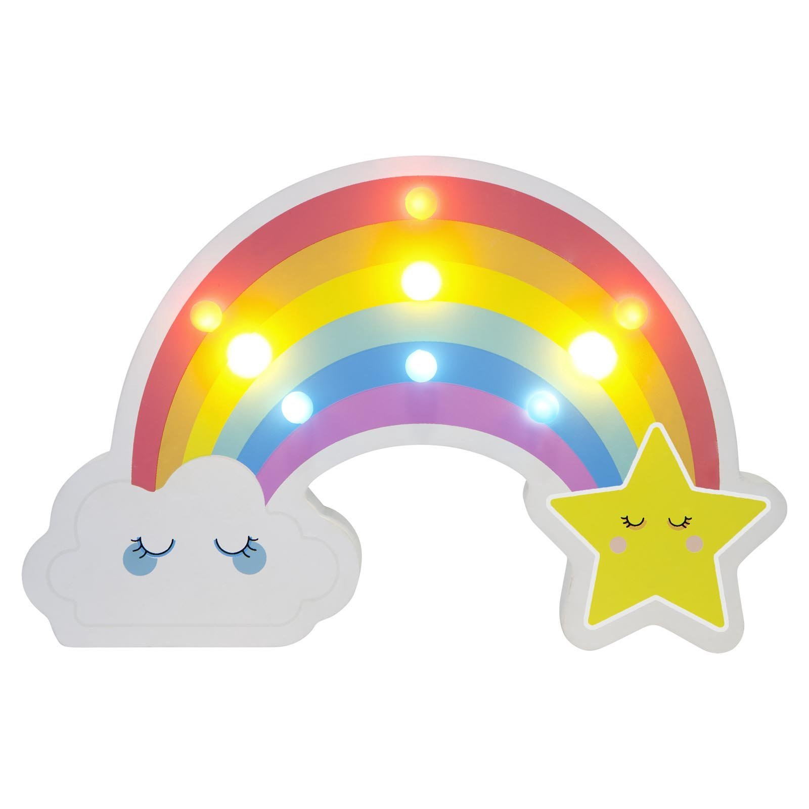 Sunny Life Rainbow Kids Marquee Light