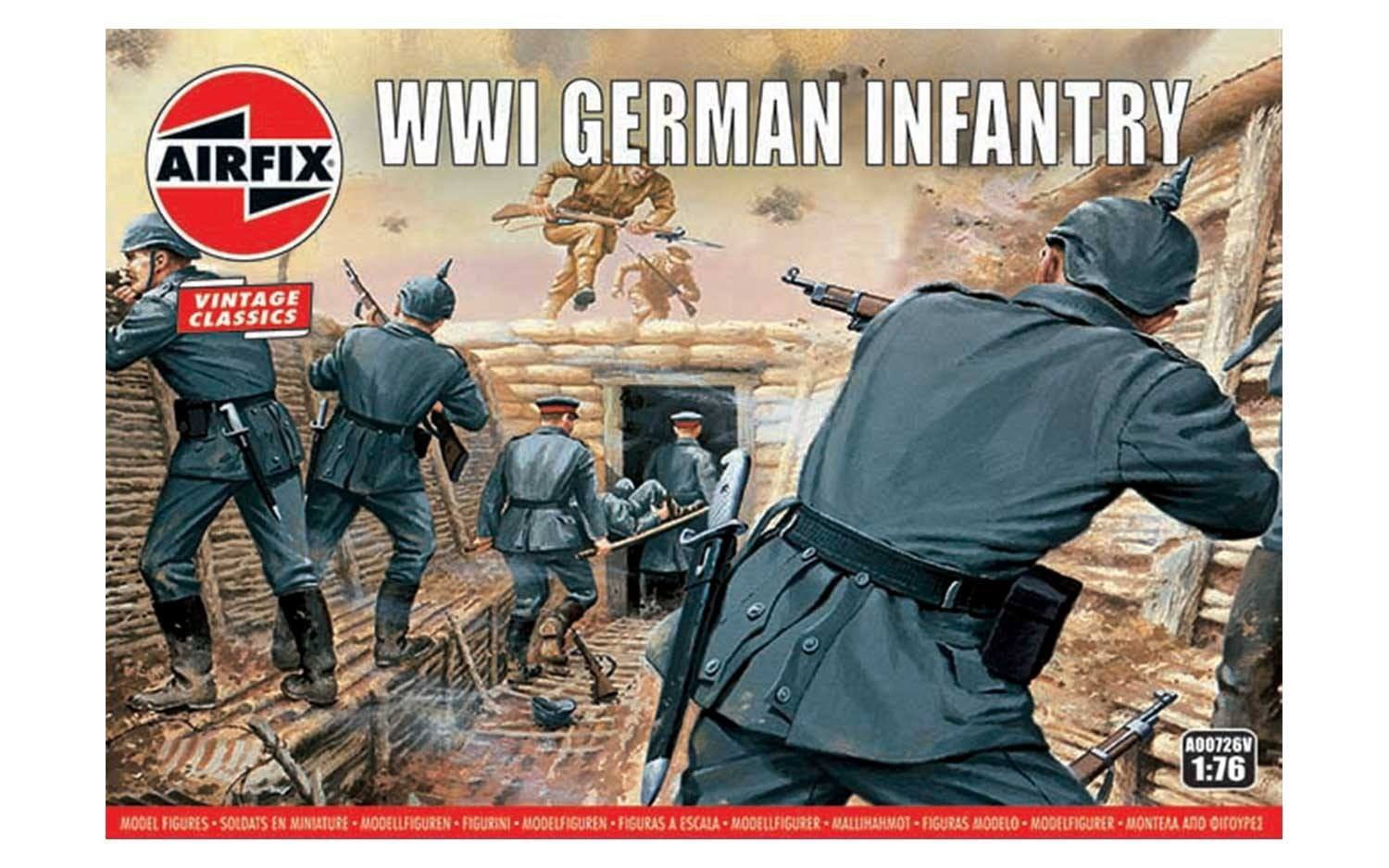Airfix #A00726V 1/76 WWI German Infantry