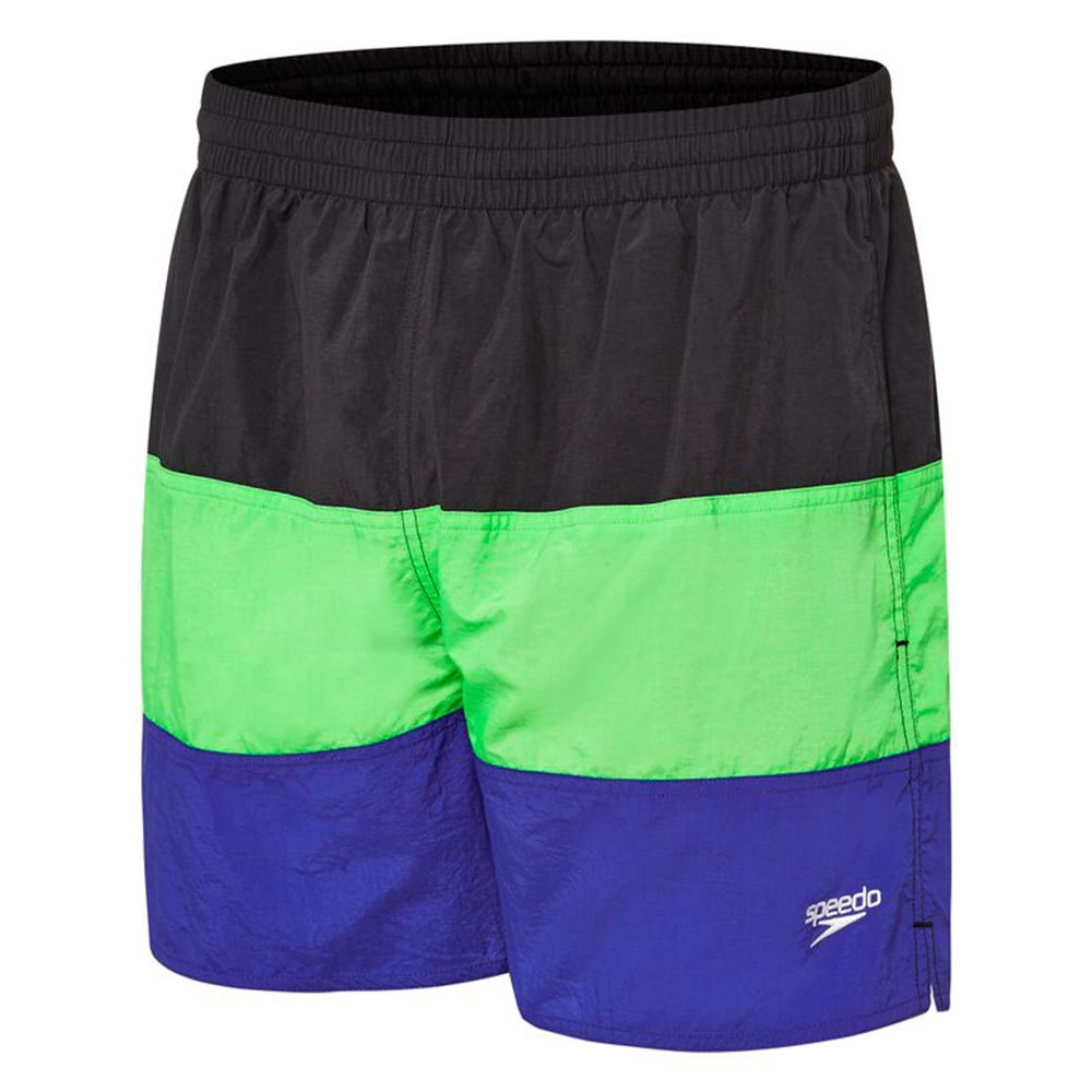 Mens Panel Solid Leisure Carbon/Toucan/Speed