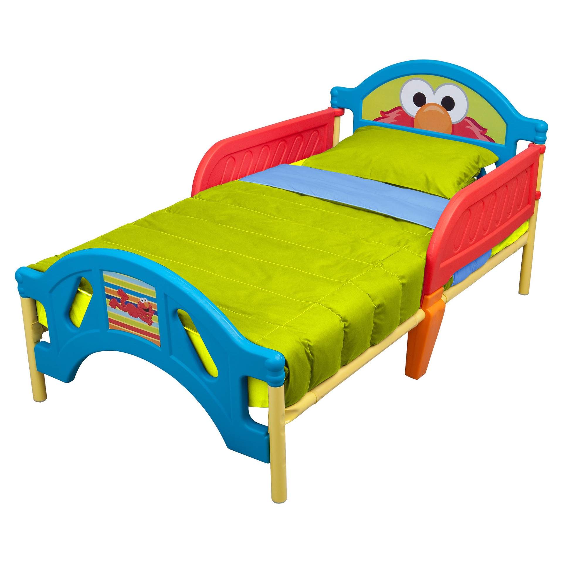 SESAME STREET TODDLER BED