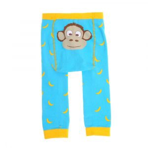 ZIGGLE Baby Leggings - Marley Monkey By Stripey Cats