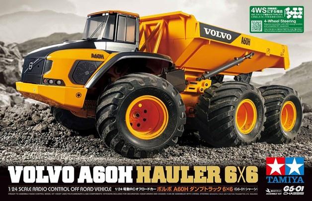 Tamiya #58676 1/24 Volvo A60H Hauler 6x6 Kitset