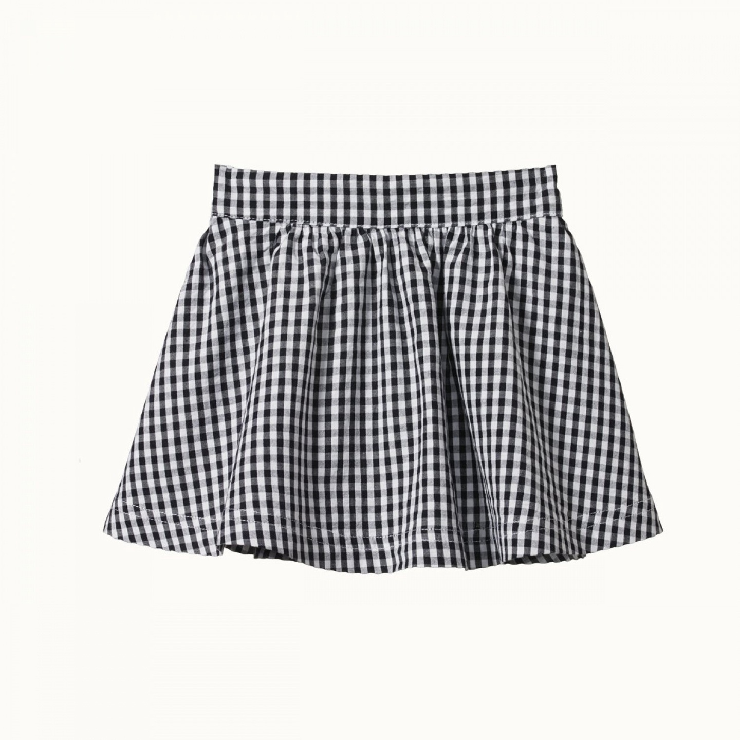 MILLIE SKIRT - NAVY CHECK