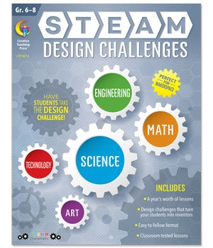 CTP 8213 STEAM DESIGN CHALLENGES G 6-8