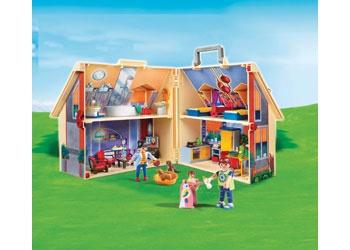 Take Along Modern Doll House