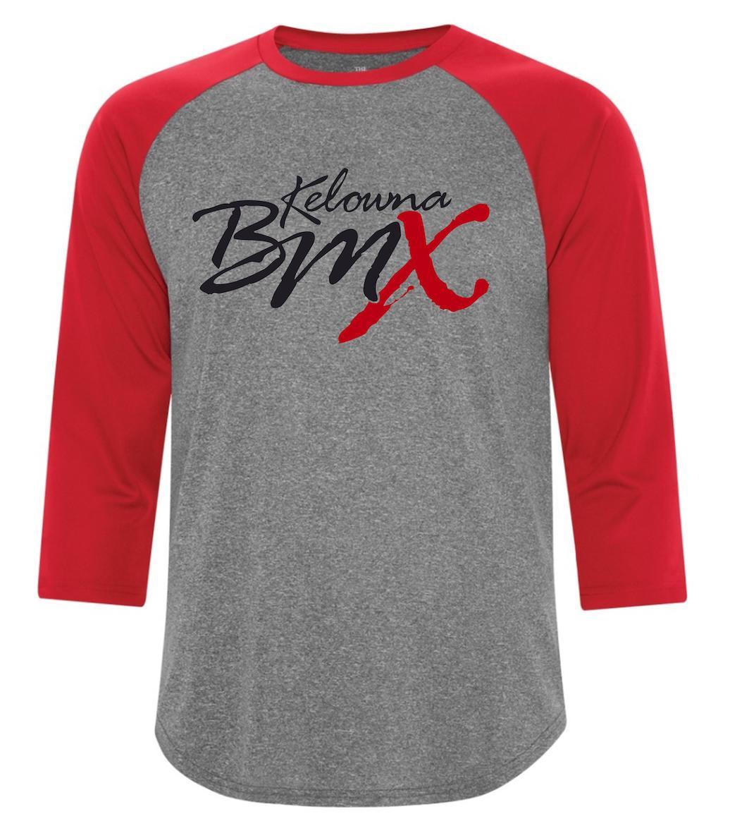 Kelowna BMX 3/4 Sleeve Tee