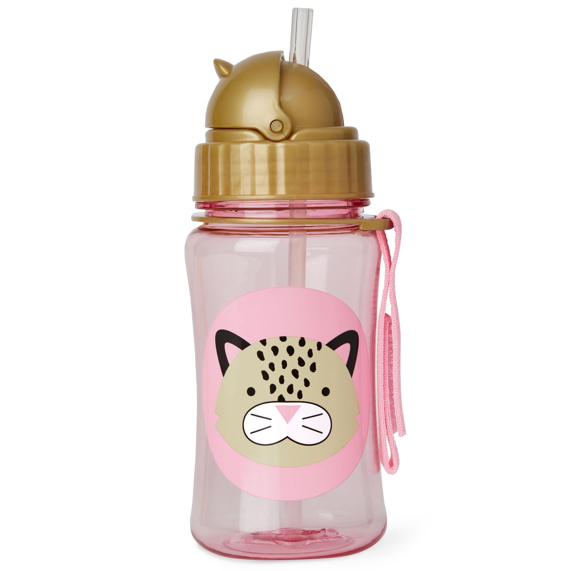 Skip Hop Zoo Drink Bottle, Leopard, One size