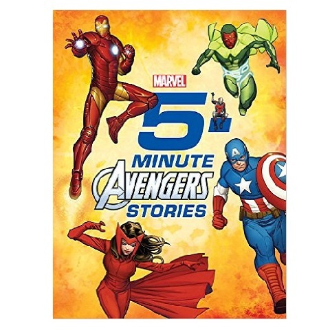 5-MINUTE AVENGERS STORIES (HB)